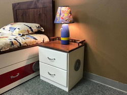 Boat bed Nightstand