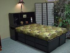 Stuff your stuff bed