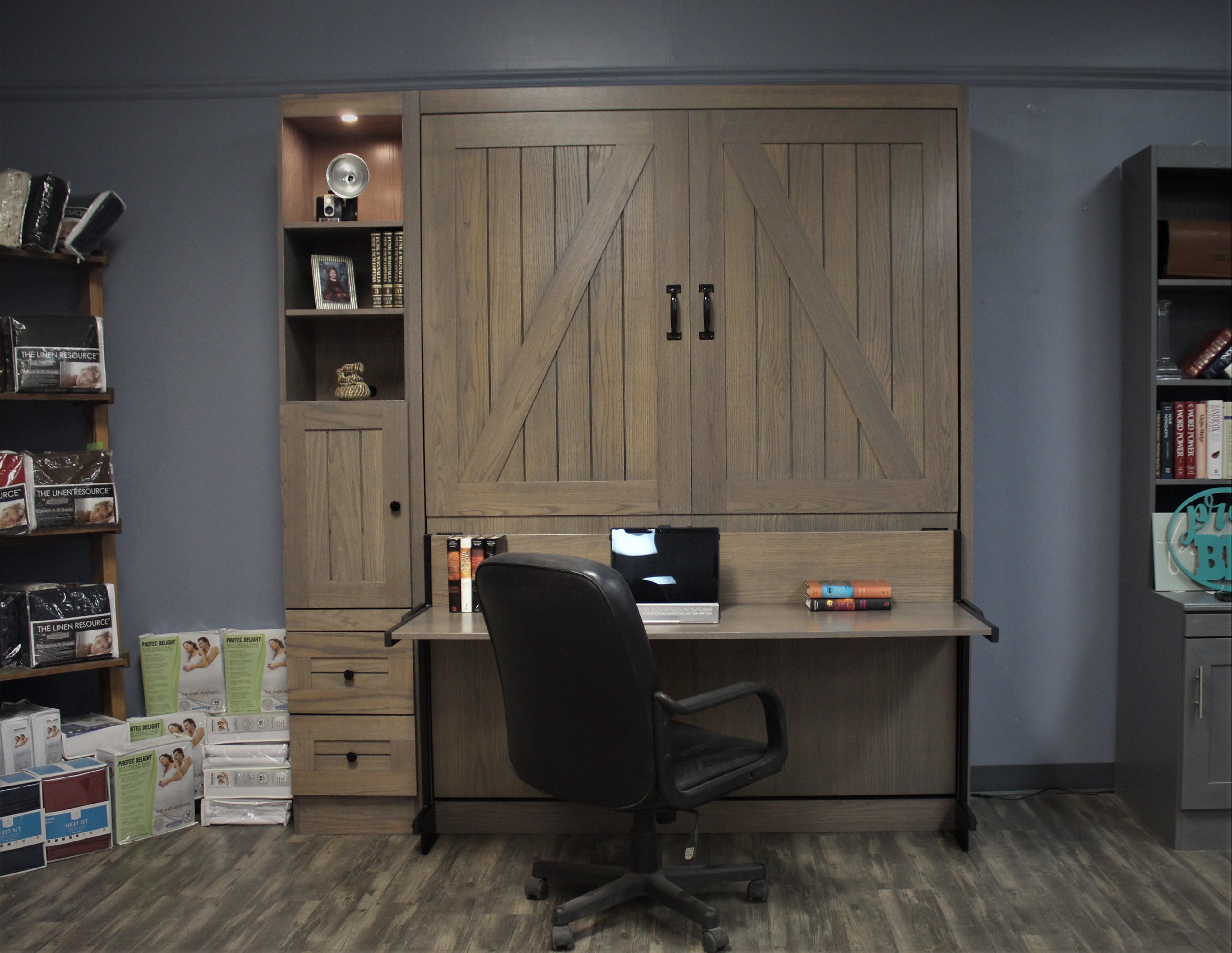 Barn Desk Closed
