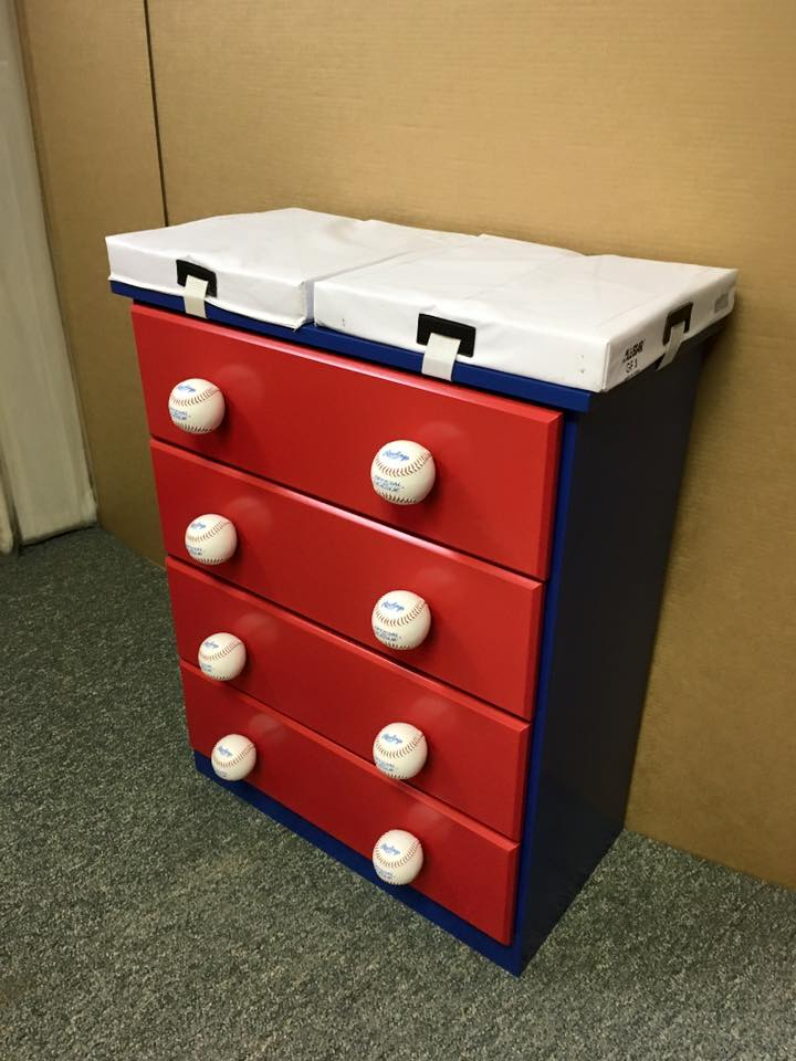 Baseball Base Chest