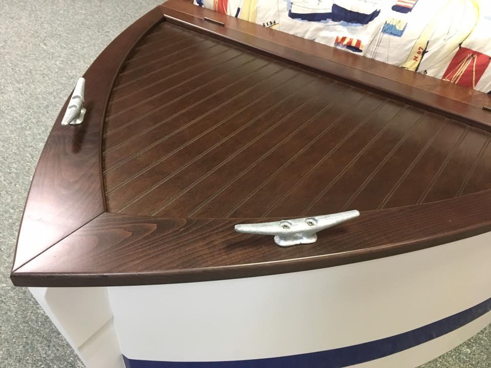 Boat Flat Headboard Lid