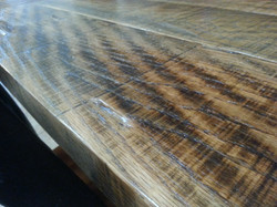 Close up of the table top