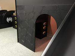 Desk inside the Batcave