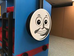 Thomas Train Bed Face