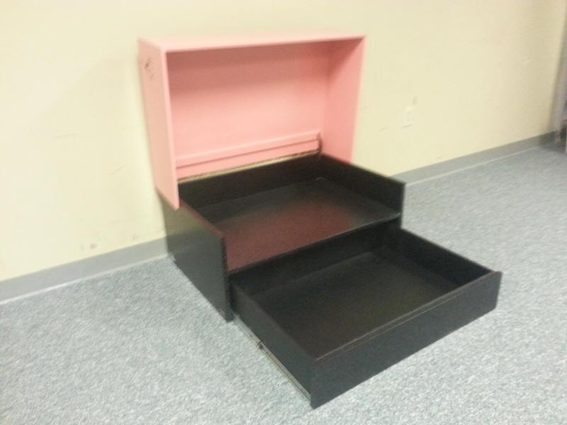Pink Jordan Box Open