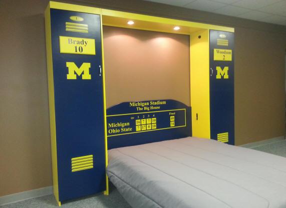 Scoreboard Headboard