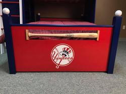 Baseball Loft Yankees Foot Board