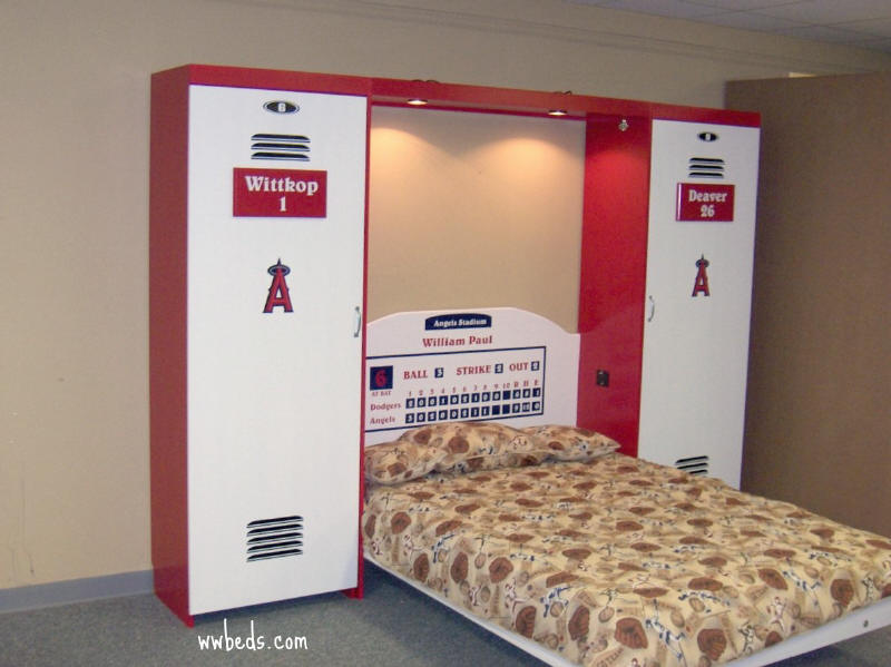 Anaheim Angels Bed Open