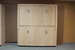 double bunk twin murphy bed front v