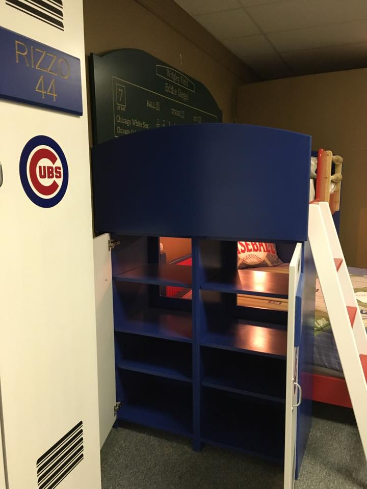 Baseball Loft Lockers