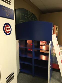 Baseball Loft Lockers