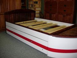 Flat Headboard Boat Bed