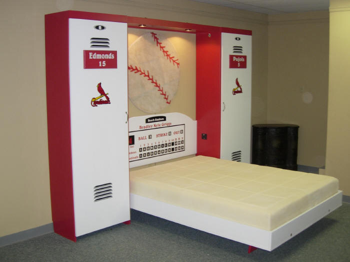 Cardinals bed open