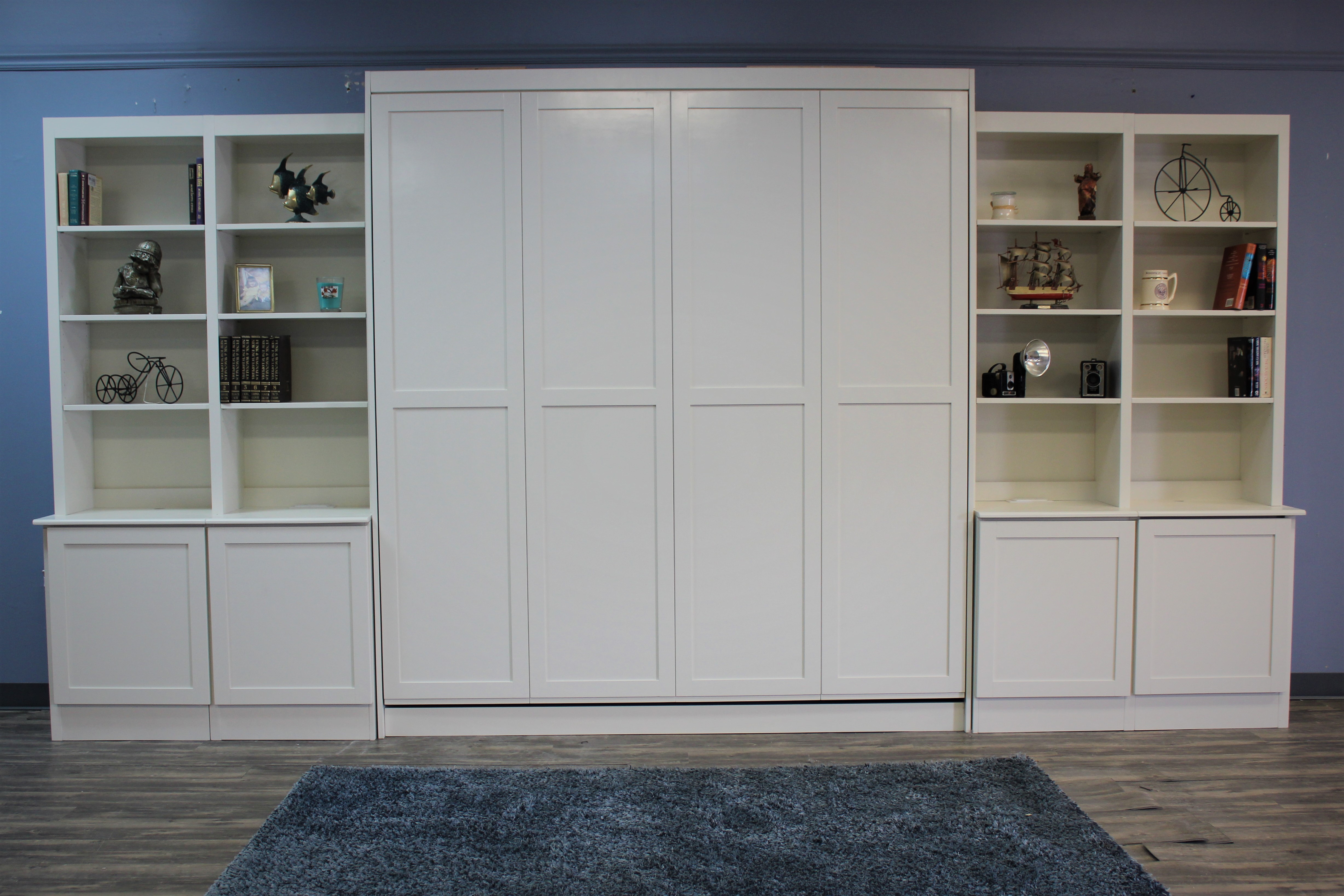113-0421 Templeton with bookcases front