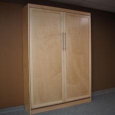 Murphy bed with door front panel