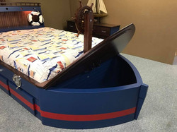 Boat Bed Toy Box