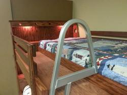Boat bunk ladder