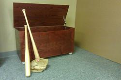 Baseball Toy Box