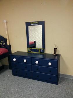Baseball Dresser/Rookie Card Mirror