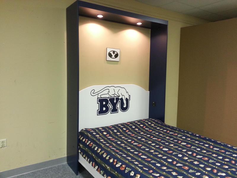 BYU Murphy bed open