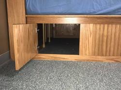 Oak Daybed Storage