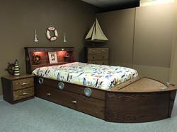 Boat bed Oak