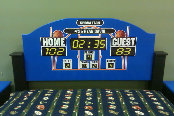 Basketball Headboard
