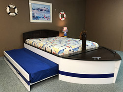 Boat Bed Trundle Open