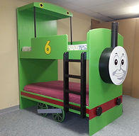 A bunk bed in the Percy theme