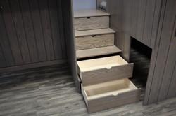 Loft Village  Stair Drawers