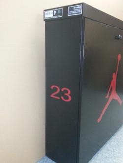 Jordan Shoe Cabinet Left