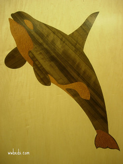 Whale Marquetry Right
