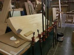 Surfboard Headboard clamp