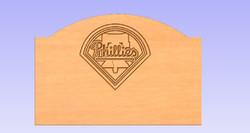Philadelphia Phillies Headboard