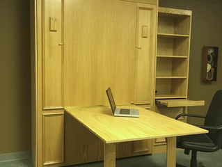 Murphy Bed with Folding Desk