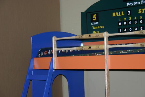 dugout ladder