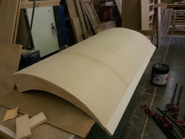 Surfboard Bed Building picture