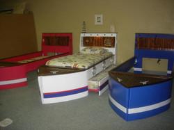 Three Boat Beds