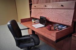 Barn Door #1219-0520  Desk Open