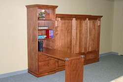 Ross Folding table bookcase