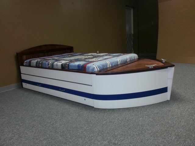 Boat Bed | Modified Headboard