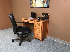 Coner Double Pedestal Desk