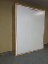 Contemporary face murphy bed