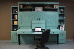 Barn Desk Open
