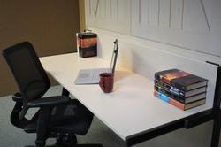 Barn Door #1219-0420 Stay Level Desk