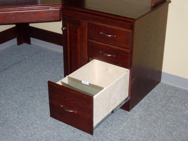 Standard file drawer