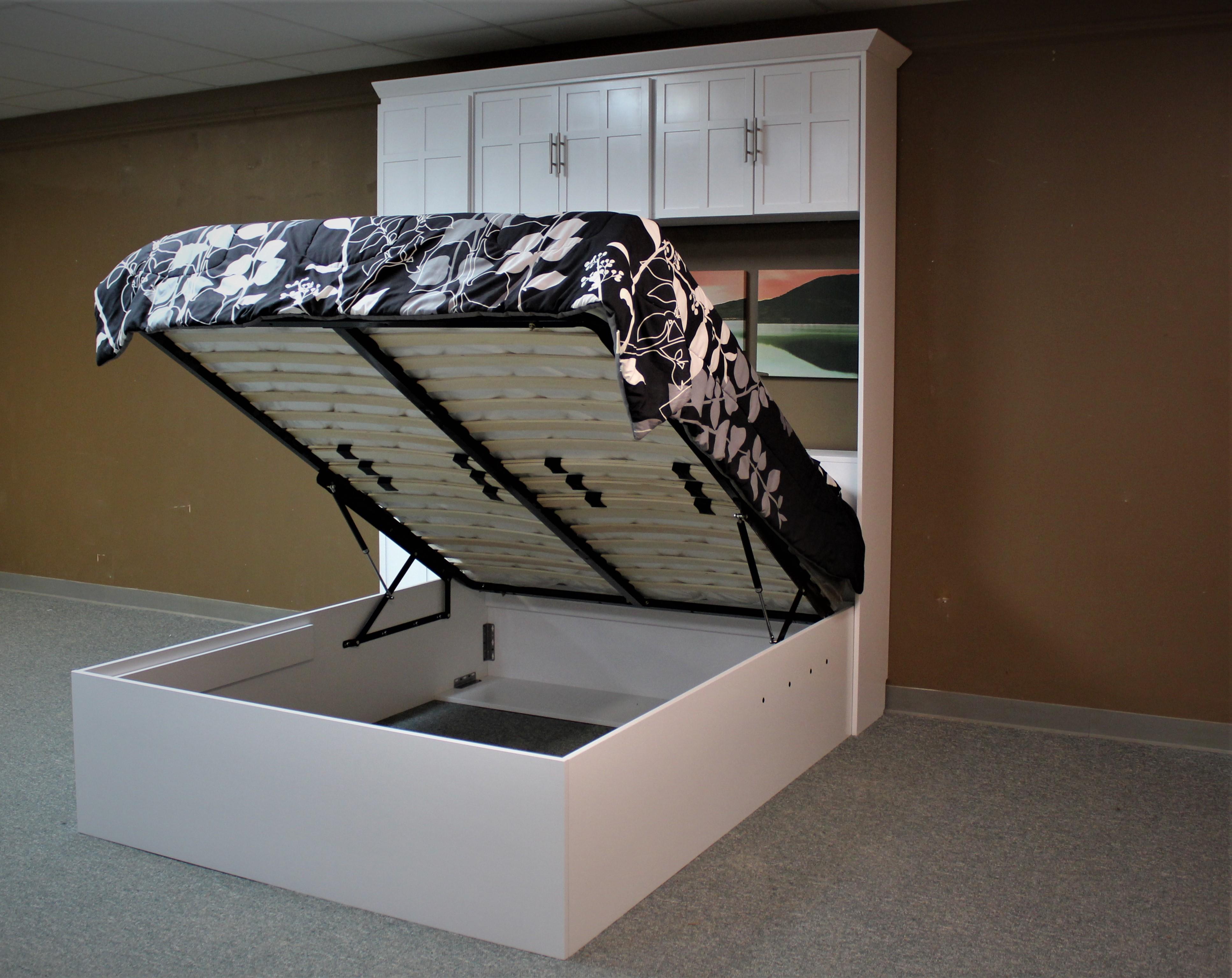 Lift Bed Open