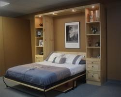 Murphy bed #1223-0520 Open