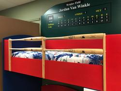 Baseball Loft Style 2 Guardrails