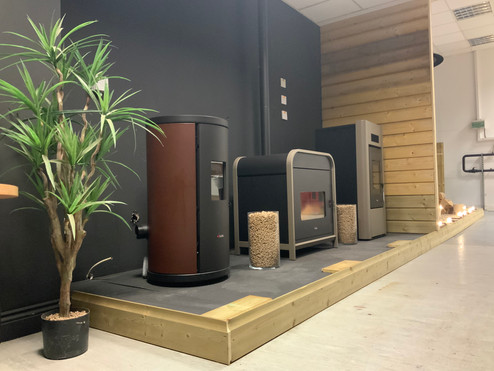 stove showroom wood pellet stoves